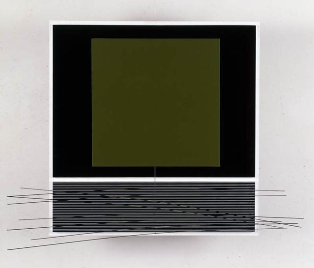 , 'Oliva sobre negro,' 1991, Sicardi Gallery