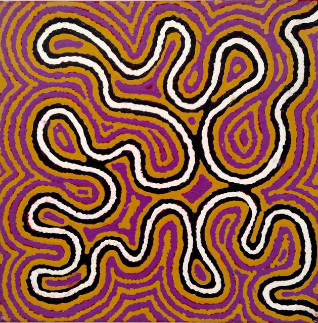 , 'Ngalyipi Jukurrpa (Snake Vine Dreaming) - Purturlu,' 2017, Rebecca Hossack Art Gallery