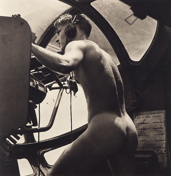 , 'PBY Blister Gunner, Rescue at Rabaul,' 1946, Scott Nichols Gallery