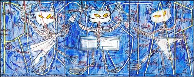 , 'Rockstar Triptych,' 2006, 55Bellechasse