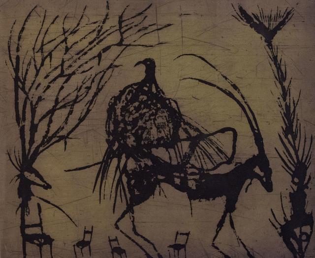Guillermo Olguin, 'Cabra con pájaro', 2018, Flux//Zone