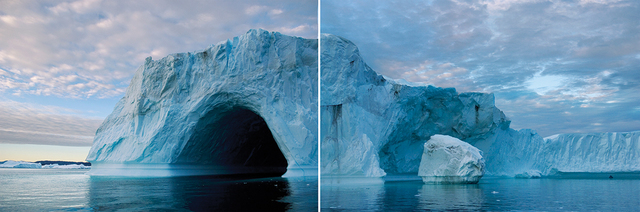, 'Greenland Isfjord Diptych, 2006,' 2015, Hexton Gallery