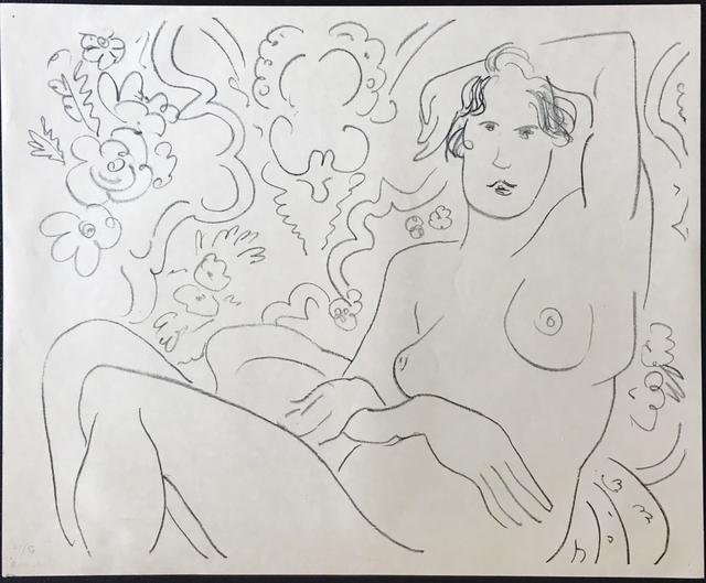 , 'Nu assis, bras gauche sur la tete,' 1926, Fairhead Fine Art Limited
