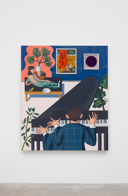 , 'Two Tone,' 2018, Casey Kaplan