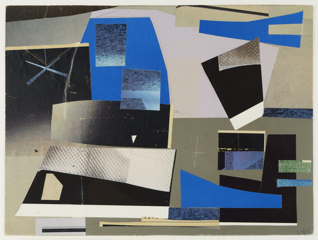 , 'Study for 'Solid Against Loose Forms',' 1979, Debra Force Fine Art