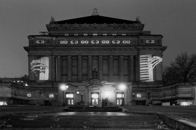 , 'Allegheny County Memorial Hall, Pittsburgh,' 1986, Profile
