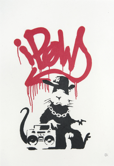 Banksy, 'Gangsta Rat', 2004, Tate Ward Auctions