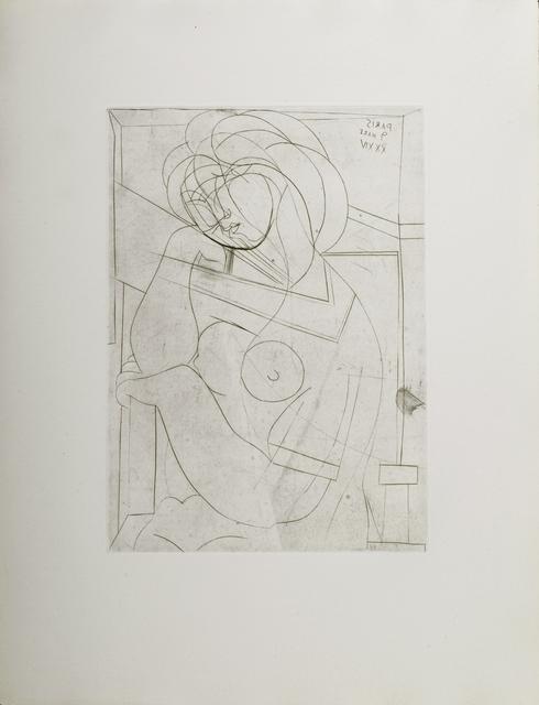 Pablo Picasso, 'Femme Nue Assise, La Tete Appuyee sur la Main', 1934, Odon Wagner Gallery