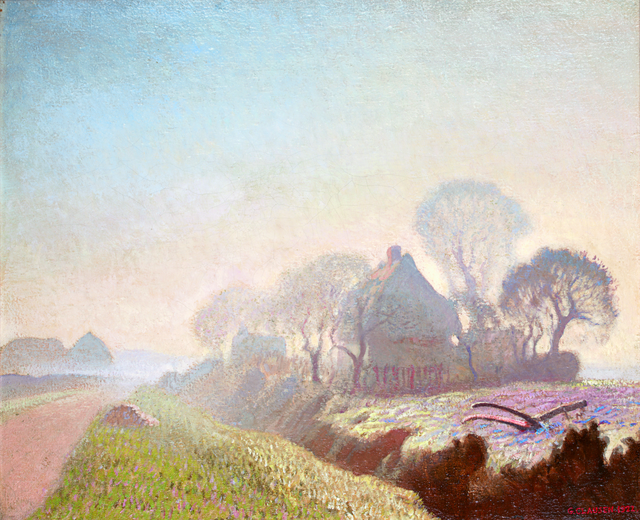 , 'Morning in November,' 1922, The Fine Art Society