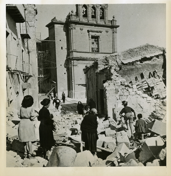 , 'Ruins of Agrigento,' 1943, Be-hold