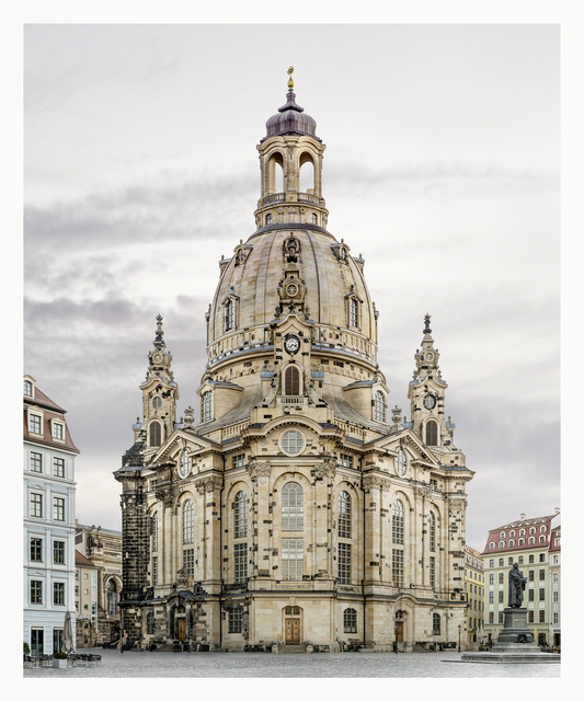 , 'Dresden, Frauenkirche, from the series Facades,' 2007-2014, Yossi Milo Gallery