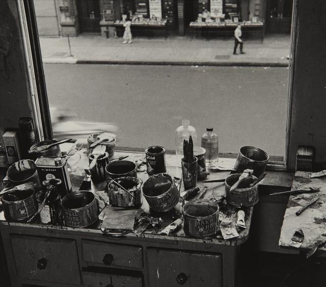 , 'Willem De Kooning Studio I,' 1950, Tibor de Nagy