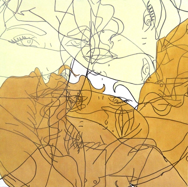 Hilary Bond, 'Green, Gold, Pearl, Unbleached Titanium', 2014, Artspace Warehouse