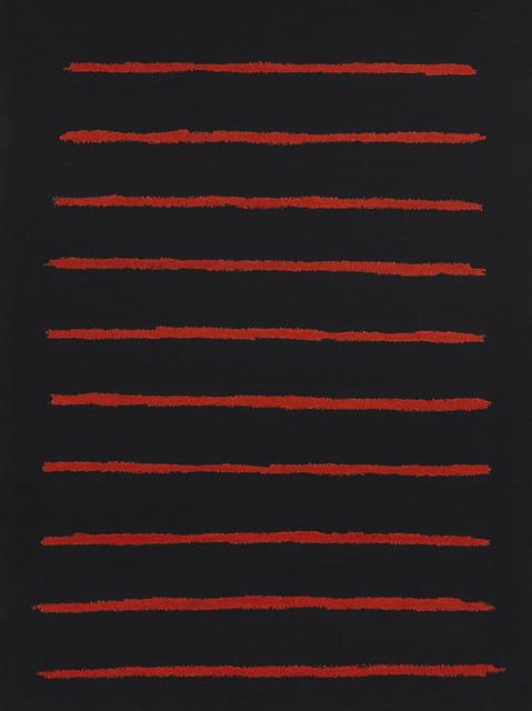 , 'Lines,' 2018, Galleria Heino