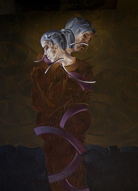 , 'Kucaklaşma,' 2013, Anna Laudel