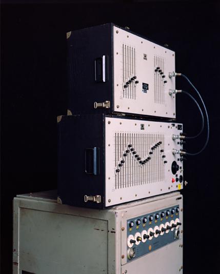 , 'DAS IMAGINÄRE STUDIO VIII (Variabler Tonfrequenzfilter, Studio für Elektronische Musik des Westdeutschen Rundfunks, Köln),' 2017, Galerie Wilma Tolksdorf