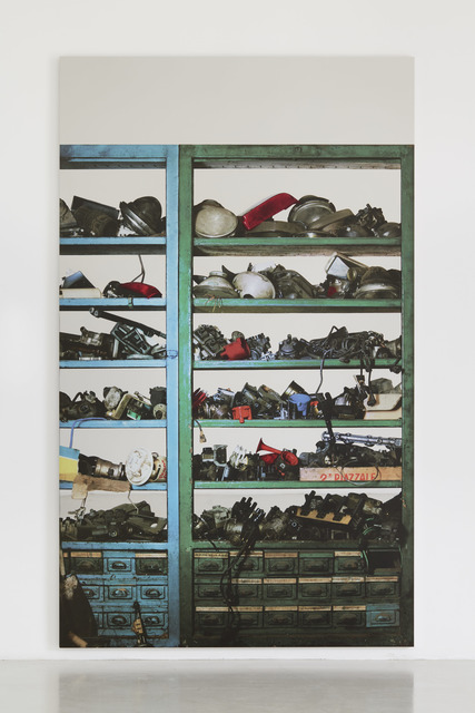 , 'Scaffali - attrezzature elettriche (Shelves – electrical equipment),' 2015, Simon Lee Gallery