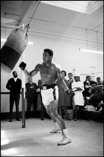 , 'Ali in London Gym ,' , Milk Gallery
