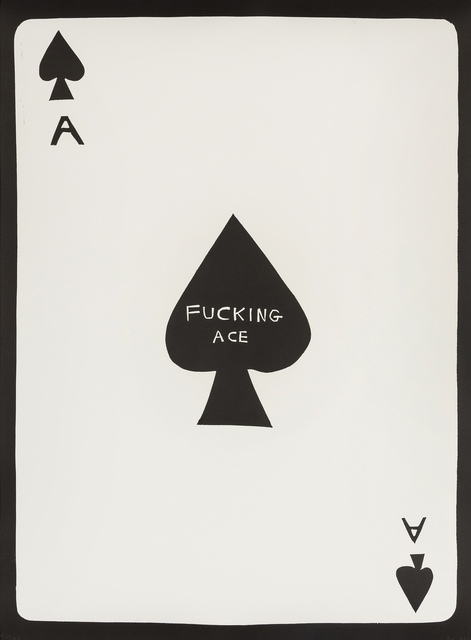 David Shrigley, 'Fucking Ace', 2018, Forum Auctions