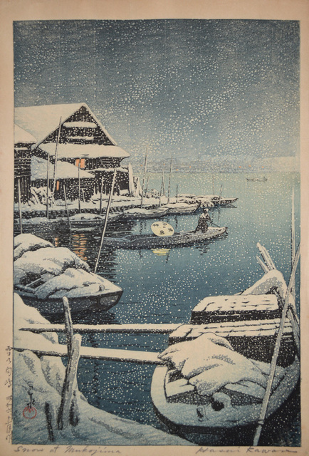 , 'Snow at Mukojima,' 1931, Ronin Gallery