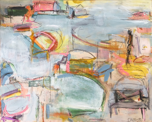 , 'Summer Harbor,' 2018, AMP: Art Market Provincetown