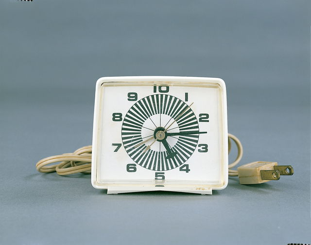 , '10-Hour Flux Clock,' 1969, Track 16 Gallery