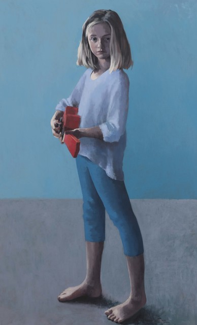 Claerwen James, 'Girl With a Ukulele 2', 2018, Flowers