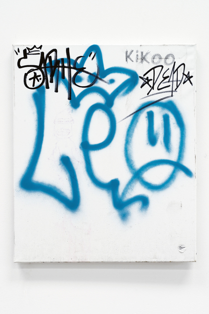 , 'Gebrauchsbild 170 q (Patina Painting) Le Plateau, Paris,' 2014, Barbara Gross