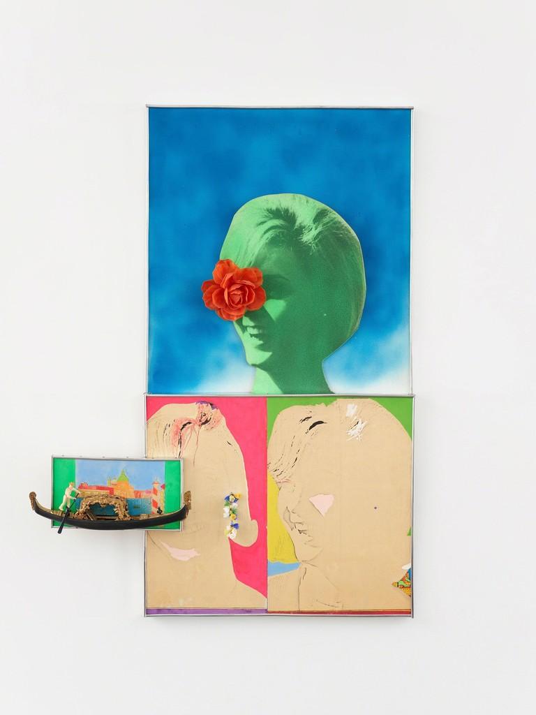 Martial Raysse, 'Portrait de Gabriella la jolie vénitienne', 1963