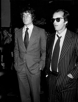 , 'Warren Beatty and Jack Nicholson, Mabel Mercer Concert, Dorothy Chandler Pavilion, Los Angeles,' 1978, Staley-Wise Gallery