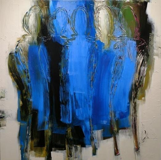 , 'Royal Blues,' 2017, Gallery 133