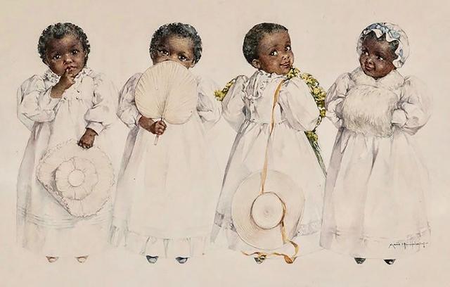 Maud Bogart Humphrey, 'Chocolate Creams', 1894, The Illustrated Gallery