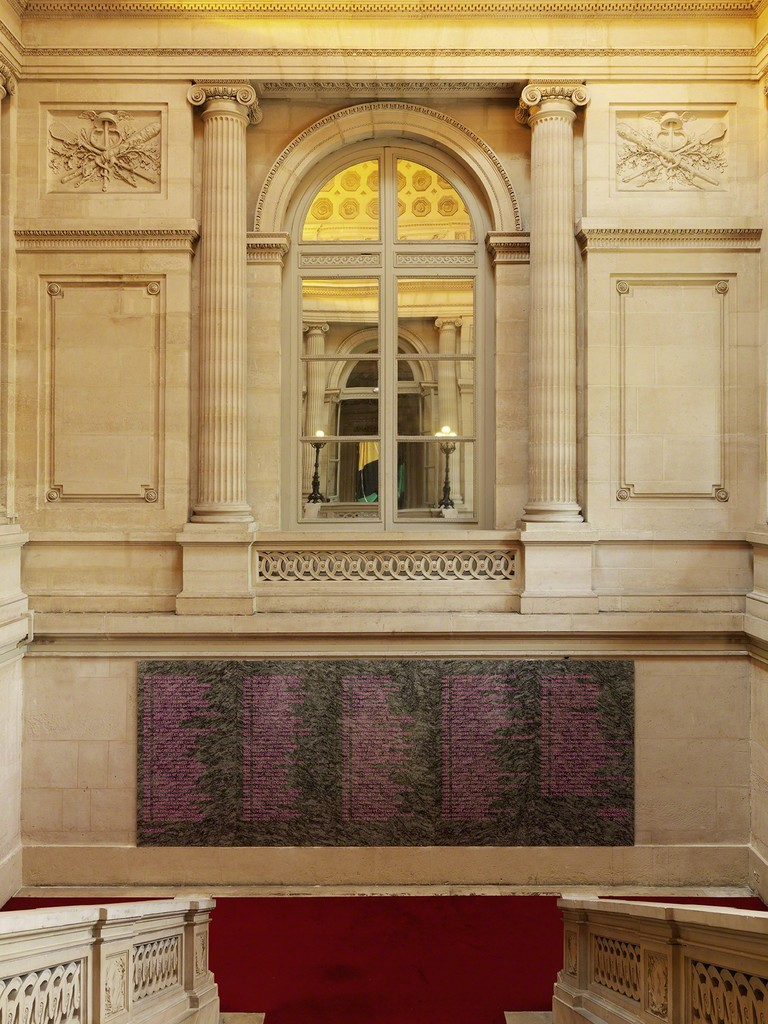 """Merci Raymond by Bertrand Lavier"" at Monnaie de Paris, 2016. Photographe André Morin"