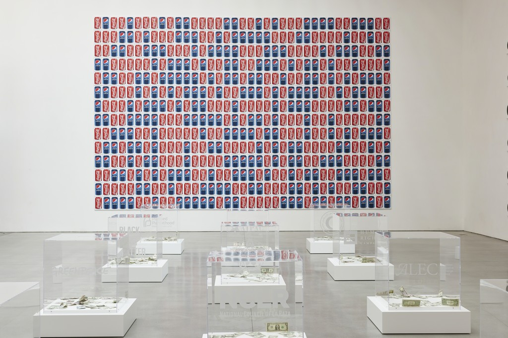 Jonathan Horowitz: Occupy Greenwich /  Installation View / 