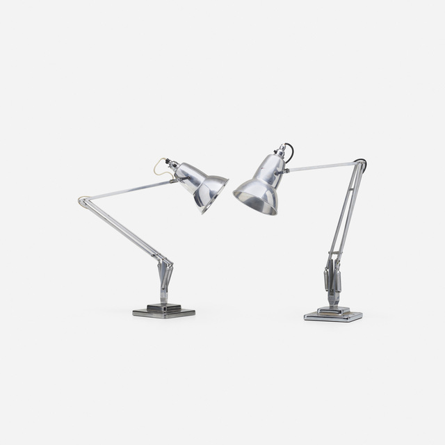 George Carwardine, 'Anglepoise lamps, pair', 1935, Wright