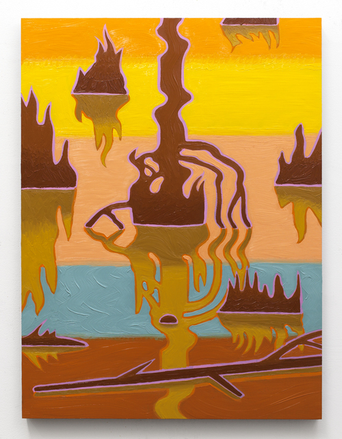 Caetlynn Booth, 'Swamp Shimmers (panel 8)', 2018, Project: ARTspace