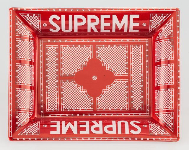 Supreme, 'Hermes Ashtray (Red and White)', c. 2012, Heritage Auctions