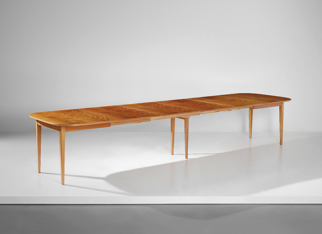 Josef Frank, 'Large extendable dining table', designed ca. 1940-produced 1950s, Phillips