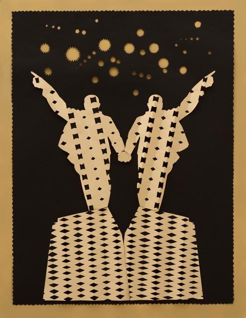 , 'Und vor uns die Sterne,' 2014, Galerie Kleindienst