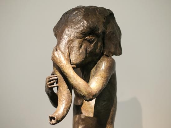 , 'Standing Elephant,' , LKFF