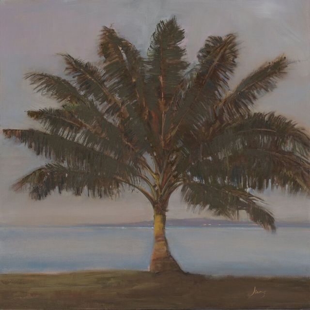 , 'Triangular Palm ~ Kihei, HI,' 2018, The Guild of Boston Artists