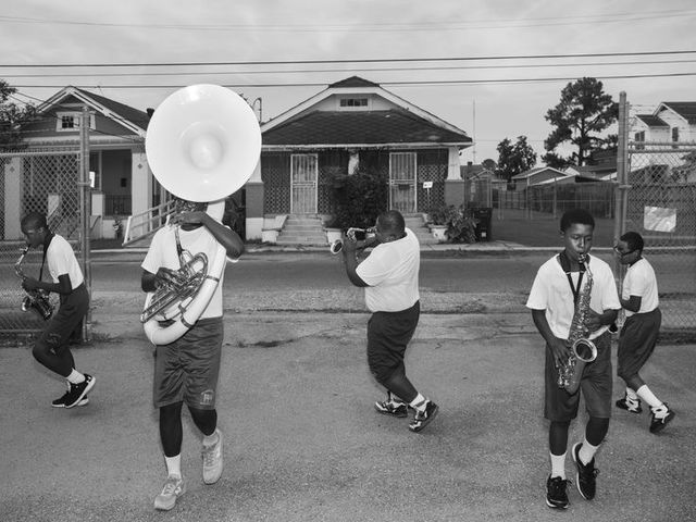 , 'St. Augustine High School Marching Band,' 2015, Weinstein Gallery - Minneapolis