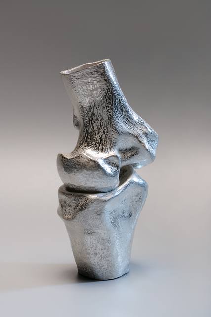 Wang Kezhen, 'Bone implement', 2017, Sculpture, Silver, NO 55 ART SPACE