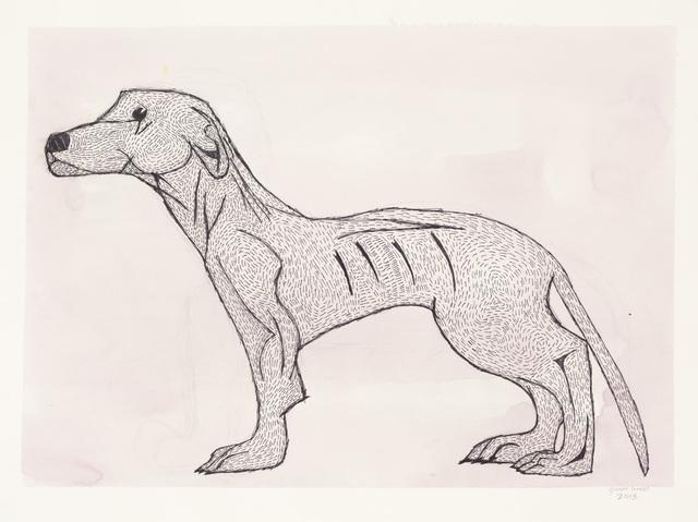 , 'Untitled (Dog),' 2013, Creativity Explored