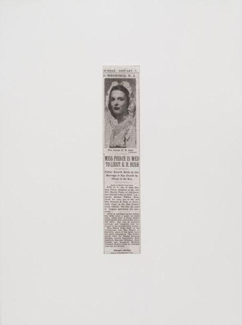 Danh Vō, '06.01.1945', 2014, Print, Photogravure print, kurimanzutto