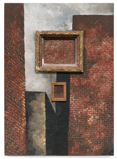 , 'Untitled (with brick in brick),' 1988, Punta della Dogana