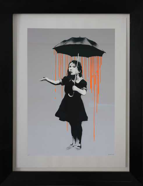 , 'Nola, Dark Orange to Orange Rain, AP signed,' 2008, Galerie Kronsbein