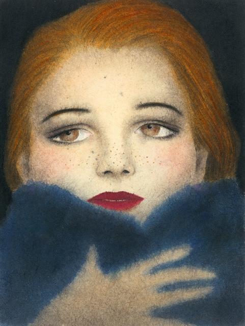, 'Blue Fox,' 2019, Galerie Kleindienst