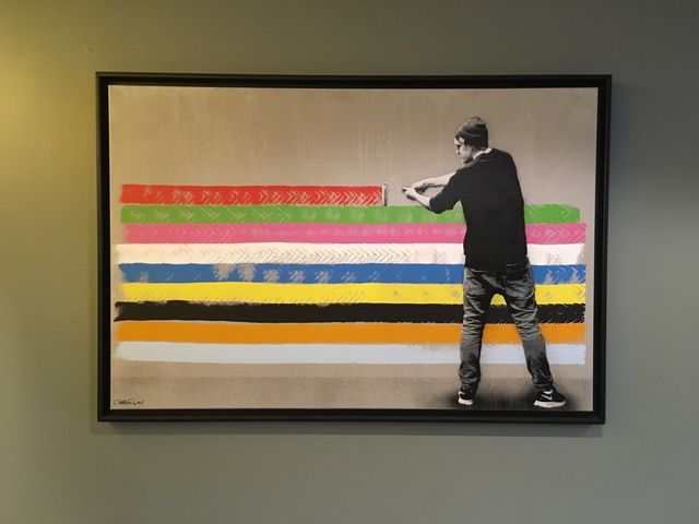 Martin Whatson, 'Rollerpainter', 2015, On The Wall