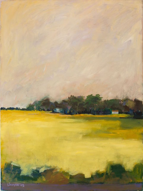 , 'Yellow Field,' 2003, InLiquid